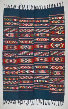 Africa | Wrapper ~ Ogboni Society Uniform ~ from the Yoruba people of Nigeria | 20th century | Cotton.