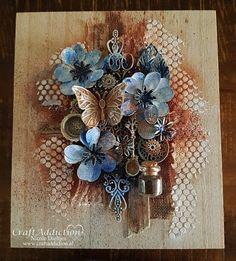 CraftAddiction Designteam Mixed Media blog: This box is just my cup of Tea ...