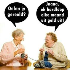 African Jokes, Senior Humor, Cartoon Jokes, Twisted Humor, Afrikaans, Quote Posters, Just For Laughs, Funny Photos, Cool Words