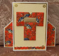 quilting with paper - cards | Crafty Sparrow: July 3rd - Japanese Paper Quilting