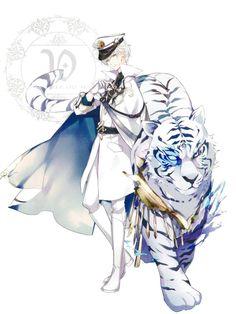 white demon shun-kun
