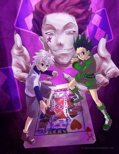 Hisoka, Killua, and Gon ~Hunter X Hunter