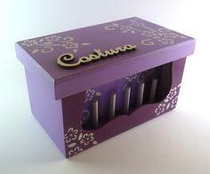 mini caixa de costura | Maró artesanato | Elo7