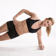 Abs Workout: The Fastest Way to Lose Belly Fat--The secret to amazing abs? Stop doing crunches and start doing these 3 flat-belly moves! By Chryso D'Angelo #fitness #abs www.shape.com/...