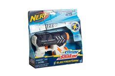 Lanza misiles de juguete, marca Nerf.