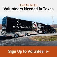 Urgent Need: Volunteers Needed in Texas - Sign up to Volunteer Now
