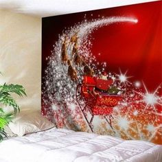 SHARE & Get it FREE | Wall Art Christmas Sled TapestryFor Fashion Lovers only:80,000+ Items·FREE SHIPPING Join Dresslily: Get YOUR $50 NOW!