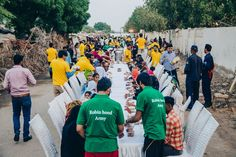 Have you heard about the Robin Hood Army which is currently feeding successfully in almost 27 cities across 5 countries, with approximately 5,11,143 people served. For more updates on this visit us: http://bit.ly/2gYaL2K
