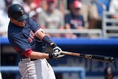DUNEDIN, FL - MARCH 19: Allen Craig #5 of the Boston Red Sox swings at a pitch during the first inning of a spring training game against the Toronto Blue Jays at Florida Auto Exchange Stadium on March 19, 2015 in Dunedin, Florida. (Photo by Stacy Revere/Getty Images) Boston Red Sox Team Photos - ESPN