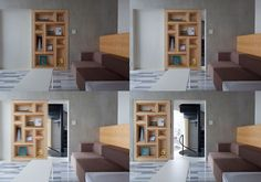 Door-bookshelves