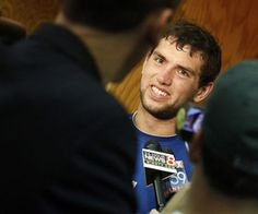"""""""SB Nation's Rookie FanChat, A Chance To Interview Andrew Luck, Coby Fleener"""" (May 11, 2012)"""