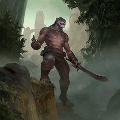 Elder Scrolls Lore, Elder Scrolls Skyrim, Alien Creatures, Fantasy Creatures, Fantasy Races, Fantasy Art, Cat Character, Character Design, Fantasy Inspiration