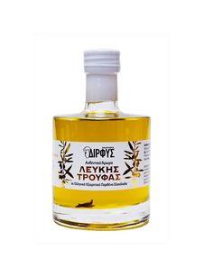 Greek Olives, White Truffle, Superfoods, Truffles, Olive Oil, Back To School, Perfume Bottles, Organic Oils, Bronze