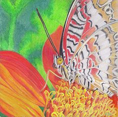 Oil Pastels Featured Images - Let Go  by Amy Tyler