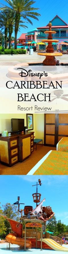disney caribbean beach resort review: good tips on room request and transportation detail