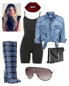 """Untitled #410"" by adsmith2321 on Polyvore featuring SPANX, Tom Ford, Soul Cal, Carrera, Yves Saint Laurent and Lime Crime"