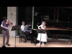 Trio for violin, viola and piano, composed by Alma Deutscher, October 2014 - YouTube