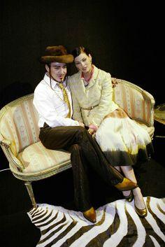 John Galliano and Linda Evangelista - 1995 - @~Mlle