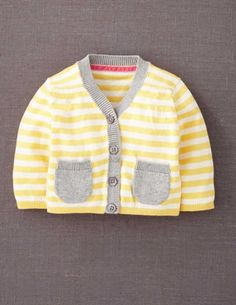 I've spotted this @BodenClothing Baby Favourite Cardigan Custard Stripe