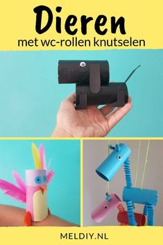 Toddler Crafts, Diy Crafts For Kids, Toilet Paper Roll Crafts, Paper Crafts, Diy Unicorn, Zoo Activities, Lion Craft, Popsicle Crafts, Handmade Home