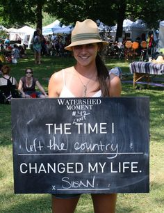 Susan shared her Watershed Moment with us at ComFest.