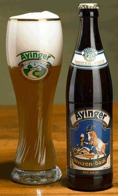 Privat Brauerei Franz Inselkammer Aying Weizen Bock 7,1% hana/pullo