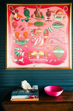 Hermes as Art. House Call with Los Angeles Jeweler Kathleen Whitaker, Echo Park, Blue Room