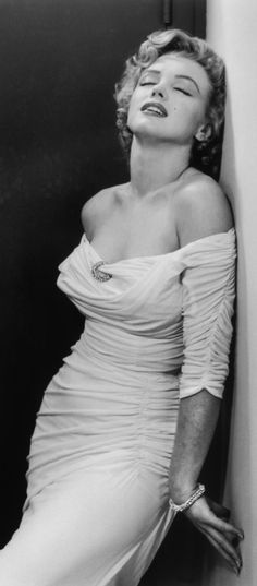 """Marilyn Monroe photographed for """"Life"""" by Philippe Halsman, 1952."""