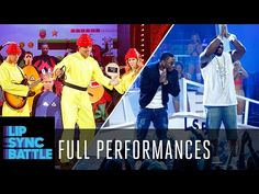 """Legendary NFL Tight End Tony Gonzalez performs an ode to the (and video games) with Devo's """"Whip It."""" Defensive great Ray Lewis performs """"Hot in Herre"""" w. Lip Sync Battle, Ray Lewis, Ll Cool J, Pantomime, Popular Music, Lips, Hot, Youtube, Videos"""