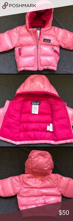 Newborn Patagonia princess jacket Beautiful pink newborn jacket. Warm! Daughter wore one weekend and has now outgrown. Patagonia Jackets & Coats Puffers