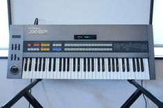 MATRIXSYNTH: Roland JX-8P Polyphonic Synthesizer SN 502780