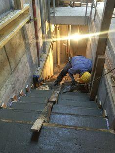 Stiege betonieren