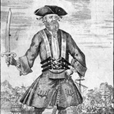 10 Facts You Didn't Know About Blackbeard the Pirate: Blackbeard learned from other pirates