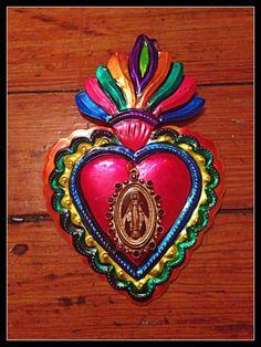 Milagrosa Charm, Mexican Sacred Heart