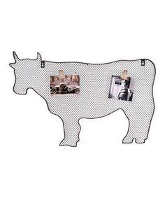 Look at this #zulilyfind! Cow Memo Board by Wilco #zulilyfinds