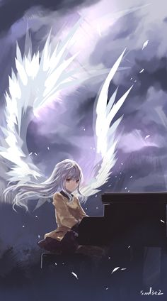 anime, angel beats, and angel image Anime Girls, Manga Girl, Anime Angel, Angel Beats!, Fanarts Anime, Anime Characters, Site Manga, Anime Kunst, Anime Art