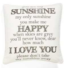 you are my sunshine  http://rstyle.me/n/f87d3pdpe
