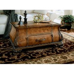 Butler Heritage Bombe Trunk Coffee Table | Wayfair Love, love, love this coffee table!!!!