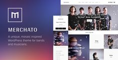 Merchato - Music and Band eCommerce WordPress Theme