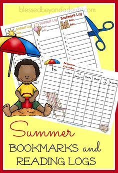 FREE summer bookmark