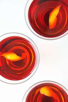 Bittersweet, complex, and composed of Campari, sweet vermouth, and gin, the negroni is not a cocktail for the faint of heart, but it's a sophisticated taste worth acquiring. Once you're hooked, you'll never look back.  Photo: Nicole Perry