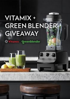 Green Blender sends you everything you need to make amazing smoothies at home. Sign up between August 31, 2015 and September 14, 2015 for a chance to win a Vitamix and a month's worth of smoothies.