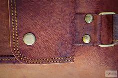 Women Goat Leather Bag / Leather Handbag / Shoulder Bag / Day Travel Bag / Brown Shopping Bag / Tote Bag / Satchel