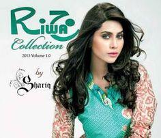 Riwaj Lawn Collection 2013 For Women By Shariq Textiles ~ Pakistani Fashion,Pak Models,Bridals Fashion,Pak Designers,Beauty Tips,Jewellery Styles,Men Fashion