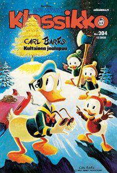 Aku Ankka Klassikko 304 12/2020 Comic Book Covers, Comic Books, Christmas Comics, Frosted Flakes, Finland, Reading, Eggs, Comic Strips, Reading Books
