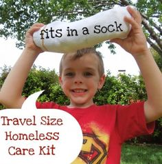 Act of Kindness: Delivering Care Packages to the Homeless - Pennies Of Time: Teaching Kids to Serve