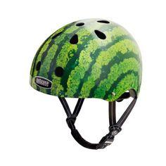 Til dere som ikke vil bli sett med hjelm. Hva med en vannmelon?