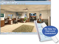 Home Remodeling Software | HGTV Software   Create Your Room In 3D And Add  All Elements. 59.99