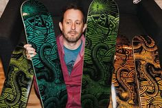Snag the first ever skate deck in the Geoff Ramsey line. Featuring the Kraken design. Off The Map, Paradise Found, Skate Decks, Rooster Teeth, Kraken, Color Show, Mystery, Collection, Instagram