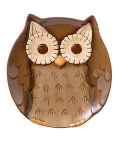 Brown Owl Plate